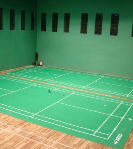METCO NEWLY INSTALLED BWF APPROVED BADMINTON FLOORING 5 MM THICKNESS  (2)