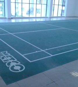 NEW COURT INSTALLED AT -INDORE